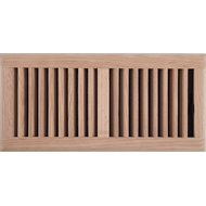 Accord 15 x 35cm Unfinished Oak Floor Register