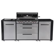Matador 6 Burner Hooded Titan BBQ Kitchen