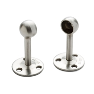 Sandleford 16mm Stainless Steel Pillar End Fitting Rod - 2 Pack
