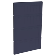 Kaboodle 450mm Bluepea Country 4 Drawer Panels