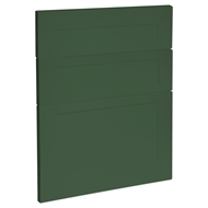 Kaboodle 600mm Vivid Basil Alpine 3 Drawer Panels