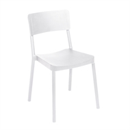 Tusk Living White Asta Cafe Chair