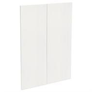 Kaboodle 450mm Gloss White Modern Medium Pantry Doors - 2 Pack