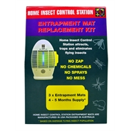 Stinger Home Insect Control Station Refill Kit - 3 Mats