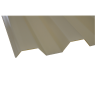 Suntuf 6.0m Smooth Cream Greca Polycarbonate Sheet