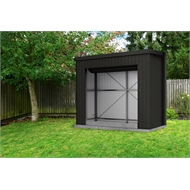 Absco Sheds 3.0 x 0.77 x 2.4m Ultra Matt Monument Fortress Shed