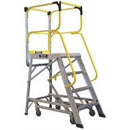 Bailey 2209mm 170kg Access 8 Aluminium Ladderweld Platform Ladder