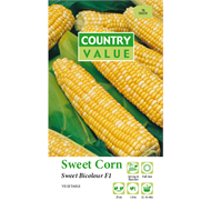 Country Value Bicolour Sweet Corn Vegetable Seeds