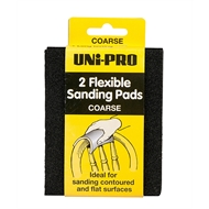 Uni-Pro Coarse Flexible Sanding Pad - 2 Pack