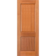 Woodcraft Doors 2040 x 820 x 35mm Maple F1 2 Panel Internal Door