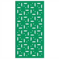 Protector Aluminium 600 x 900mm ACP Profile 29 Decorative Unframed Panel  - Light Green