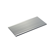 Metal Mate 60 x 3.0mm 3m Aluminium Section Fluted Strip