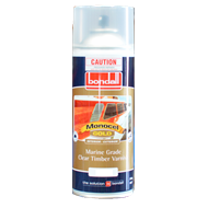 Bondall 300g Satin Monocel Gold Marine Timber Varnish Aerosol