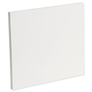 Kaboodle Gloss White Slimline End Panel