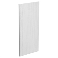Kaboodle Provincial White Wall End Panel
