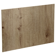 Kaboodle 1200mm Island Back Panel - Spiced Oak