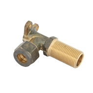 Kinetic 50mm 15C x 15MI Brass Male Lugged Compression Elbow