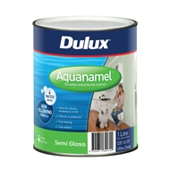 Dulux Aquanamel 1L Ultra Deep Base Semi Gloss Enamel Paint