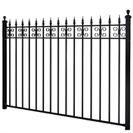 Masterworks 2300 x 40 x 1670mm Kensington Full Fence Panel Set