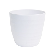 Scheurich 28 x 26cm Alva White Ceramic Pot
