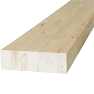 266 x 60mm GL13 Glue Laminated Radiata Pine Beam - Per Linear Metre
