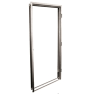 hume doors timber 2065 x 824 x 35mm pressed metal door frame