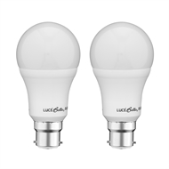 Luce Bella 10W 806lm A60 Warm White BC Globe - Twin Pack