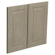 Kaboodle 600mm Urban Oak Heritage Rangehood Cabinet Door - 2 Pack