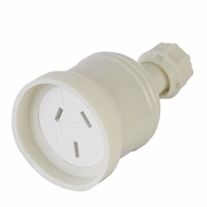 DETA 10A White Extension Socket