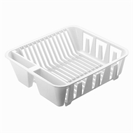 Seymours Large Dish Drainer - White
