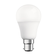 Osram 9W 806lm Warm White Dimmable A Shape LED BC Globe