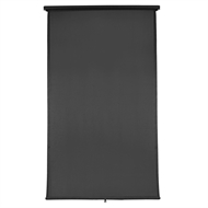 Windoware 1.5 x 2.1m Charcoal Retractable Blind