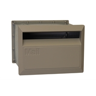 Velox 230mm Dune Back Open Letterbox with Sleeve