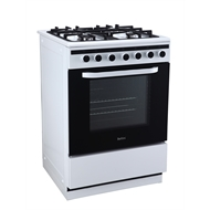 Bellini 60cm Freestanding Gas Cooktop and Electric Oven