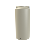 Melro 800L Polyethylene Round Water Tank - Smooth Cream