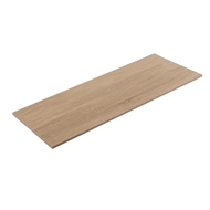 Flexi Storage 1200 x 400 x 16mm Oak Shelf