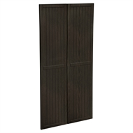 Kaboodle 900mm Copresso Country Pantry Doors - 2 Pack