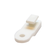 Windoware White Trakmatic Curtain Track Gliders - 10 Pack