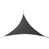 Marquee 3 x 3m Charcoal Triangle Shade Sail