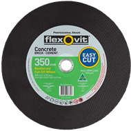 Flexovit 350 x 3.8 x 25.4mm Masonry Wet Cutting Wheel