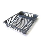 Icon Plastics Charcoal Dish and Cutlery Drainer
