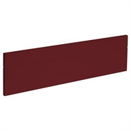 Kaboodle 900mm Seduction Red Oven Front Panels - 2 Pack