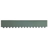 GumLeaf 1200mm Colorbond Metal Corrugated Gutter Guard - Cottage Green