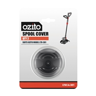 Ozito Spool Cover 2 Pack - Suits Ozito 500W 300mm Electric Line Trimmer