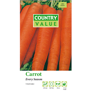 Country Value Every Season Carrot Vegetable Seeds