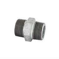 Kinetic 25mm Galvanised Hex Nipple