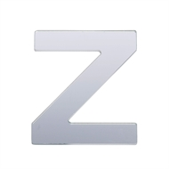 Sandleford 25mm Silver Self Adhesive Letter Z