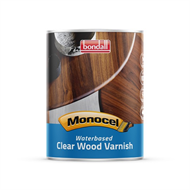 Bondall Monocel 1L Satin Waterbased Clear Varnish