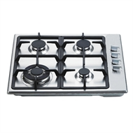 Everdure 60cm 4 Burner Gas Cooktop With Wok Ring