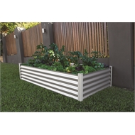The Organic Garden Co 200 x 100 x 41cm Raised Rectangle Garden Bed - Monument
